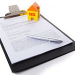 real-estate-contract-isolate-white-36420320