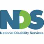 letters NDS for National Disability Services logo
