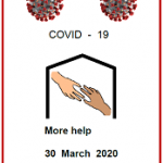 Easy Englsih fact sheet front cover. COVID19 Front cover More help 30 March 2020