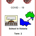 EAsy Englsih front cover COVID19. front cover school in Victoria Term 2 2020.