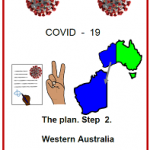 Easy English COVID19 fact sheet front cover. The plan Step 2 WA 31 May 2020