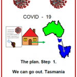 Easy English COVID 19 fact sheet front cover The plan We can go out Tas 16 May 2020