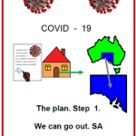Easy English COVID19 fact sheet front cover front cover We can go out SA May 2020front
